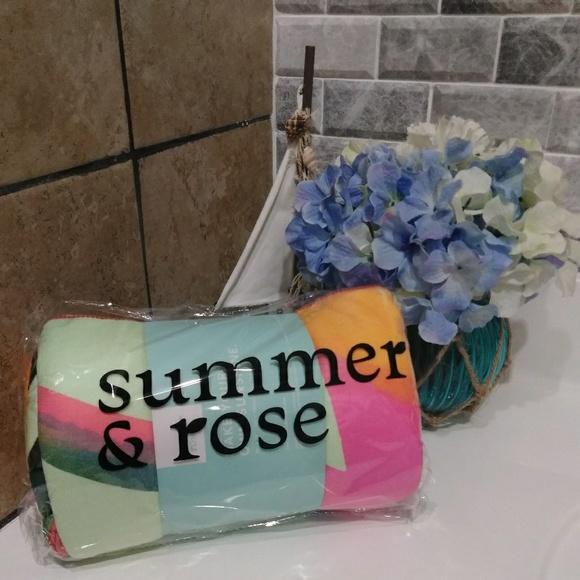 Summer Rose Swim Summer Rose Beach Towel Poshmark